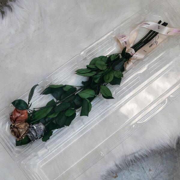 Long Stem Roses Trio