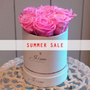 Je t'aime Eternity Roses Summer Sale